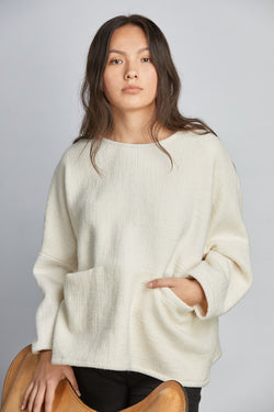 THE POCKET BOX SWEATER