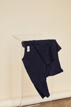 SAMPLE SALE: THE LS POCKET BOX TOP