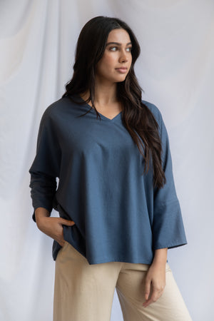 SAMPLE SALE: THE V TOP