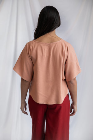 SAMPLE SALE: THE V CANVAS TOP