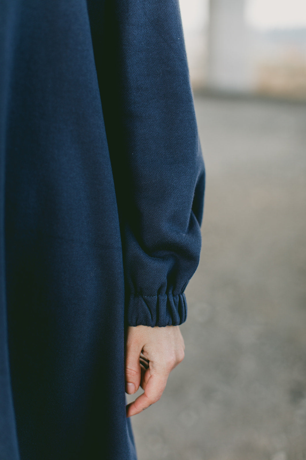 SAMPLE SALE: THE POOF SWEATSHIRT DRESS
