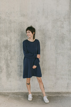 THE POOF SWEATSHIRT DRESS