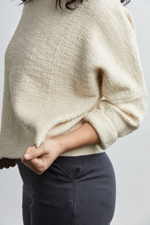 THE HEAVY WEIGHT T SWEATER