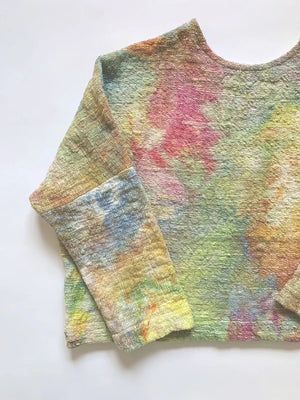 SAMPLE SALE: THE COSMIC DYED MID-WEIGHT T SWEATER