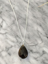 Smoky Quartz (3 Way) Sterling Silver Necklace