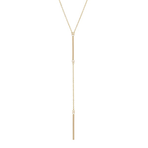 Gold Bar Lariat