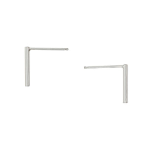 Silver Medium Bar Posts