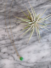 Sterling Silver Chrysoprase Necklace
