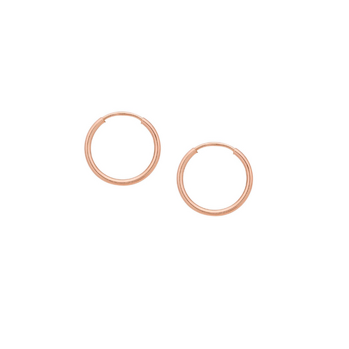 Rose Gold Extra Small Hoops