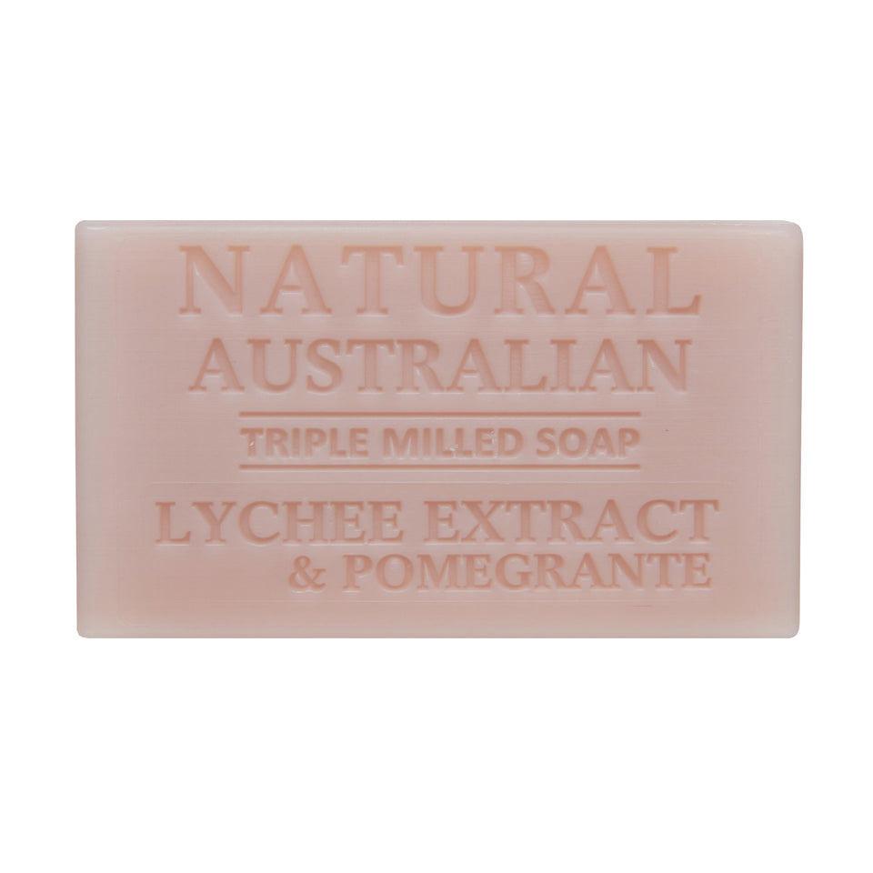 Lychee Extract and Pomgrante 100g Soap Unwrapped