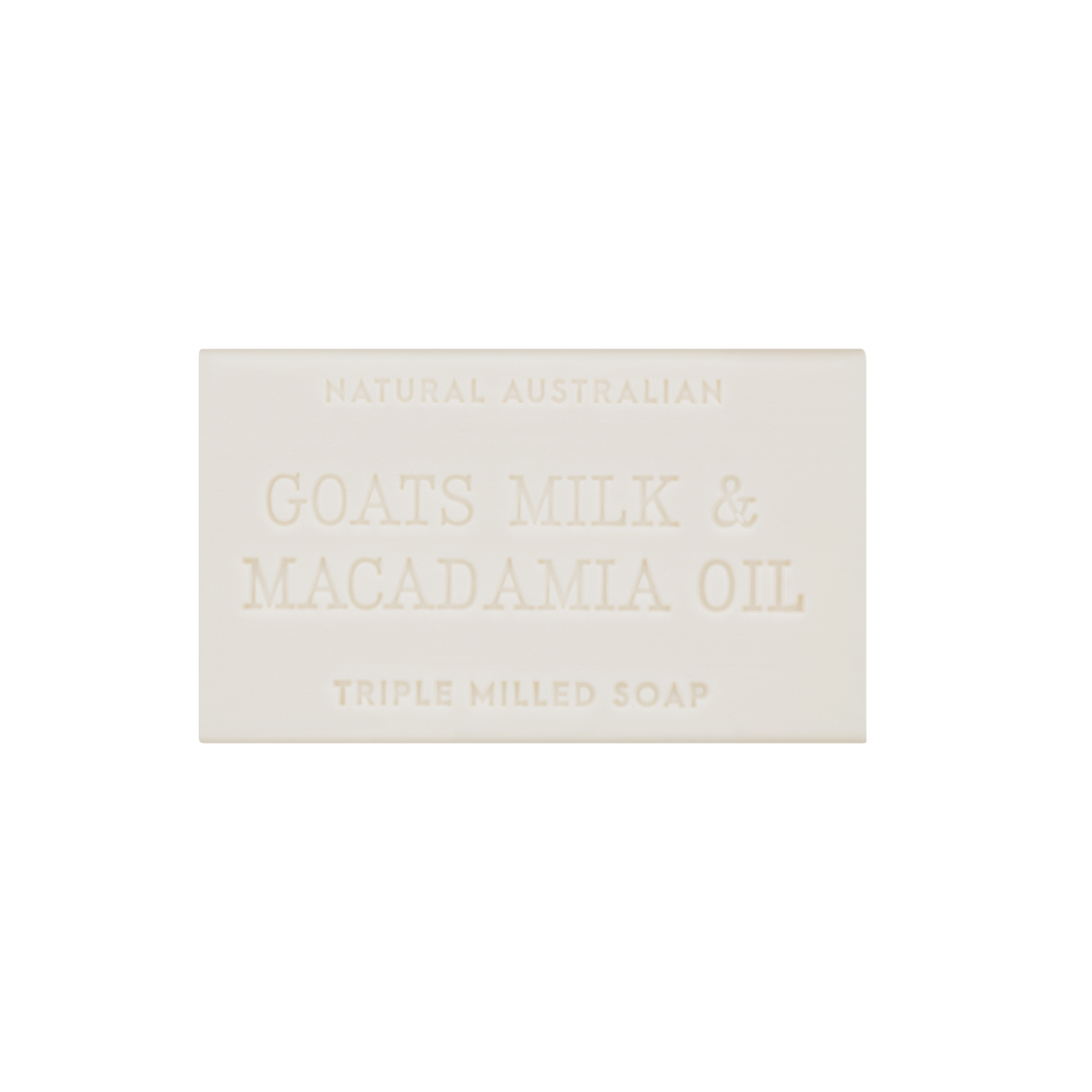 Goats Milk & Macadamia Oil Soap 100g