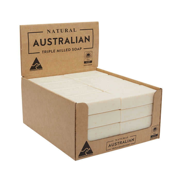 Natural Australian Triple Milled Soap Colloidal Oatmeal Shelf Ready Display