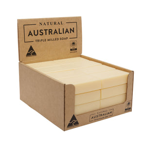 Natural Australian Triple Milled Soap Manuka Honey Shelf Ready Display