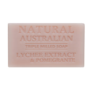 Lychee Extract & Pomegrante 100g Soap