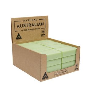 32 x 100g Kiwi Fruit & Green Tea Soap | Shelf Ready Display