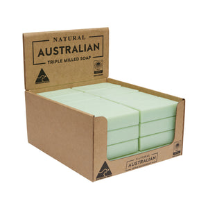 32 x 100g Aloe Vera & Cucumber Soap | Shelf Ready Display