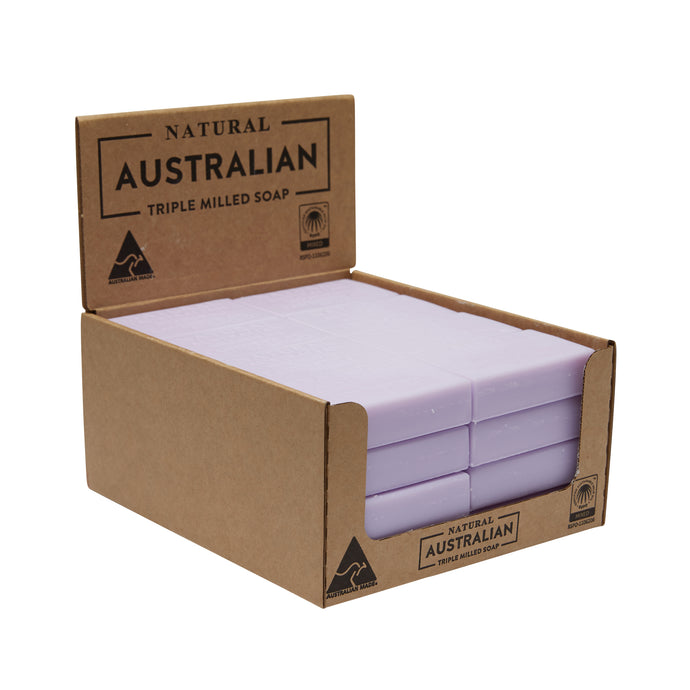 32 x 100g Lavender Oil Of Tasmania Soap  | Shelf Ready Display