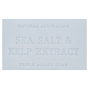 sea salt and kelp extract 200g australian triple milled soap bar