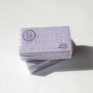 NEW - Lavender Oil of Tasmania Soap 200g