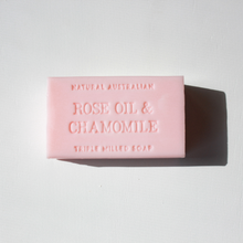 NEW - Rose Oil & Chamomile Soap 200g