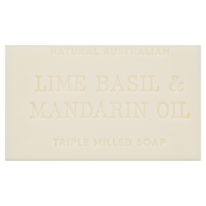 Lime, Basil & Mandarin Oil Soap 200g