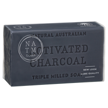 Activated Charcoal Australian Triple Milled Soap