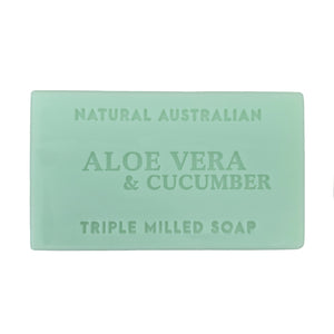 Aloe Vera and Cucumber 100g soap
