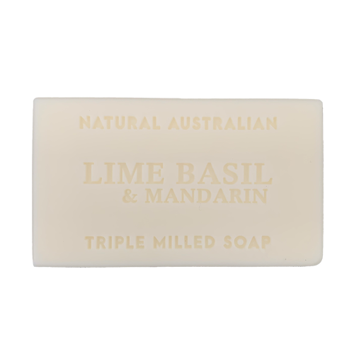 lime basil and mandarin 100g soap