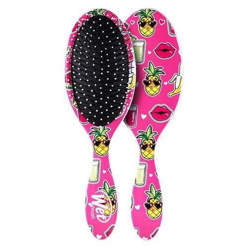 Wet Brush Pro Detangler Hair Brush Smiley Pineapple