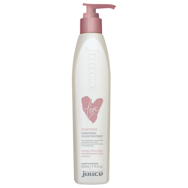 Juuce Love Conditioning Colour Treatment Dusky Rose 220ml.