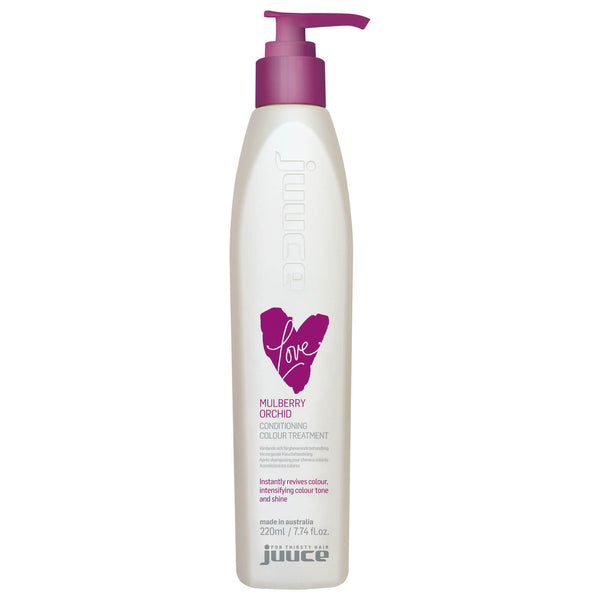 Juuce Love Conditioning Colour Treatment Mulberry Orchid 220ml