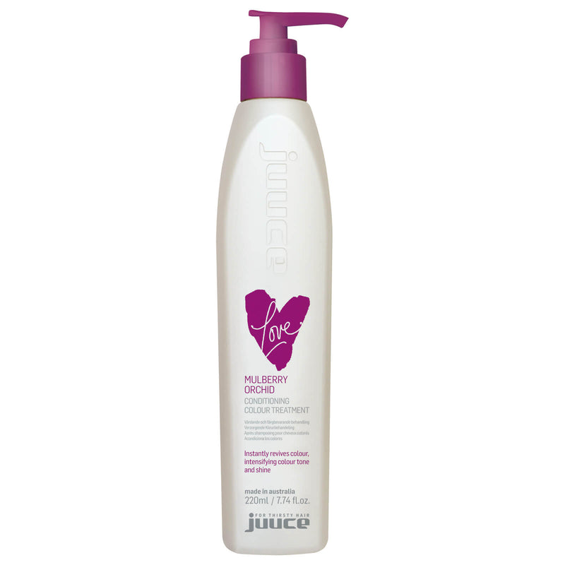 Juuce Love Conditioning Colour Treatment Mulberry Orchid 220ml.