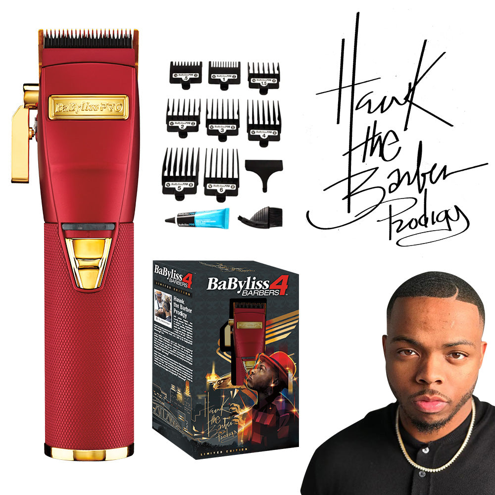 BABYLISS PRO RED FX LITHIUM CLIPPERS | BARBERS INFLUENCER COLLECTION