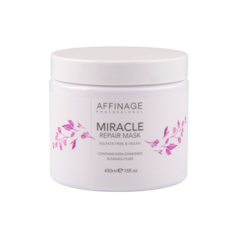 Affinage Cleanse & Care Miracle Repair Mask 450ml.