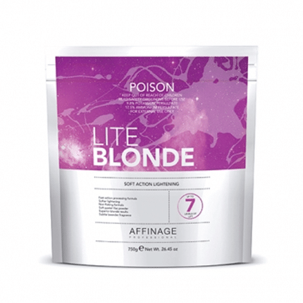 Affinage Lite Blonde Bleach Bag 750g - Lavender Fragrance