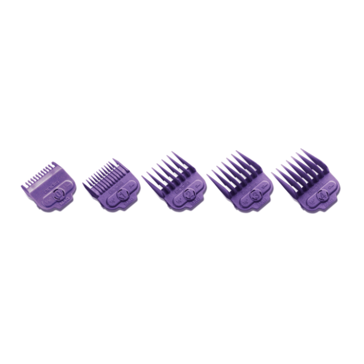 Andis Magnetic Attach Comb Set (#0,#1,#2,#3,#4) 5PCS