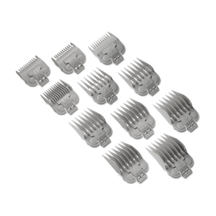 Andis US Pro Series Replacement Comb Set (11PCS) #0 - #8