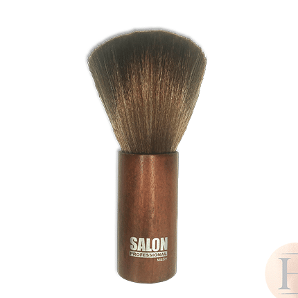 Barber Neck Brush Wooden - Salon Professional M&SH.