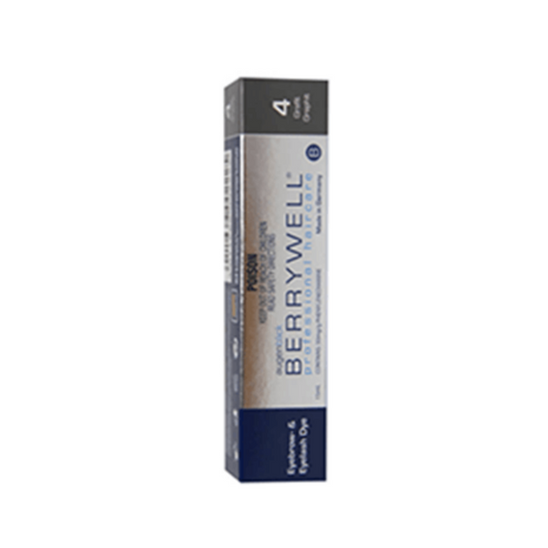 Berrywell lash and brow tint 4 Graphite 15ml