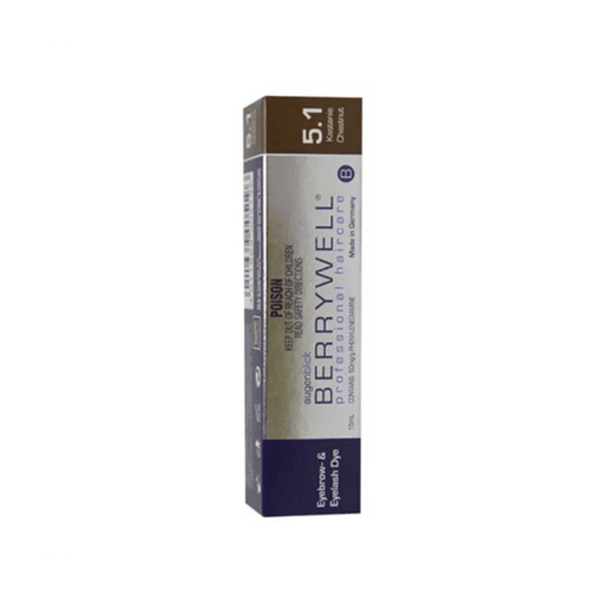 Berrywell lash and brow tint 5.1 Chestnut 15ml