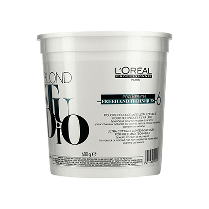 L'Oreal Professional Blond Studio Pro Keratin Freehand Techniques - 6 Lightening Powder