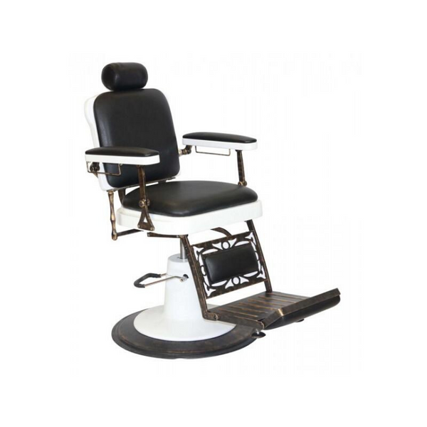 Chicago Black Barbers Chair.