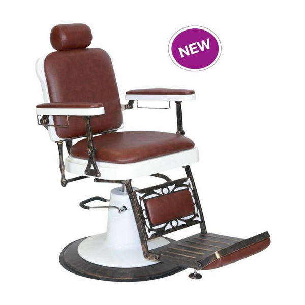 CHICAGO BROWN BARBERS CHAIR