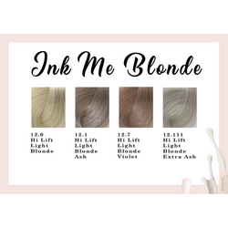 COLOUR INK - INK ME BLONDE