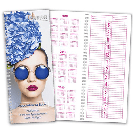 Dateline 2 Column Appointment Book