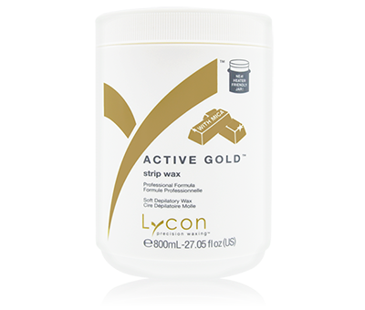 Lycon Active Gold Strip Wax XXX 800g.