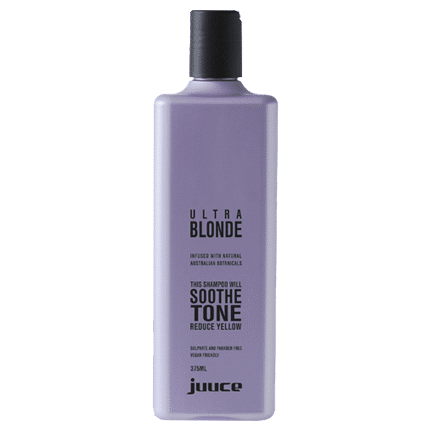 Ultra Blonde Hair Toning Shampoo by Juuce