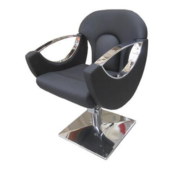 LIMERICK HYDRAULIC CUTTING CHAIR BLACK