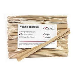 LYCON FACIAL WAXING SPATULAS 100PK