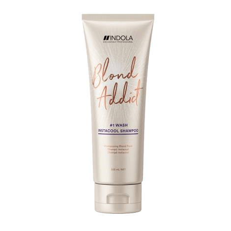 Indola Blonde Addict Shampoo - Instacool (250ml)